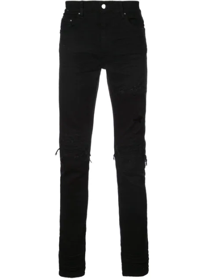 Джинсы Amiri Slim Distressed Jeans как у Фараона